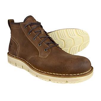 Timberland Westmore brunt läder Chukka Boots A19H3