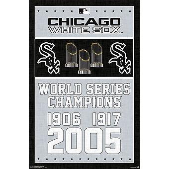 Chicago White Sox - Meister Poster drucken