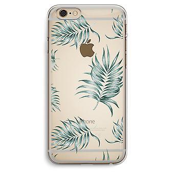 iPhone 6 y 6S Plus caja transparente (suave) - hojas simples
