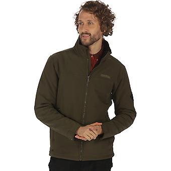 レガッタ メンズ Castiel 防風調節可能なソフトシェル ジャケットを歩く