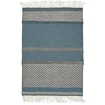Tæpper - Linie enhed - blå