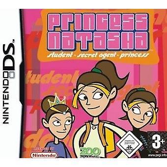 Prinses Natasha student-geheime agent-Princess (Nintendo DS)-nieuw