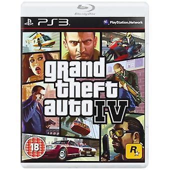 Grand Theft Auto IV (PS3) - Neu