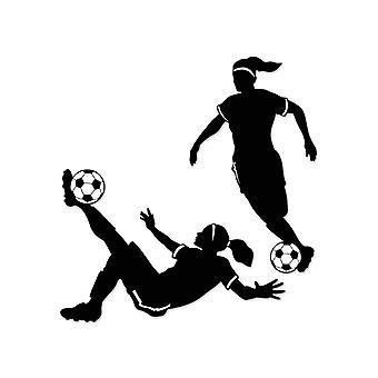 """Chica fútbol siluetas 27"""" y 28"""""""