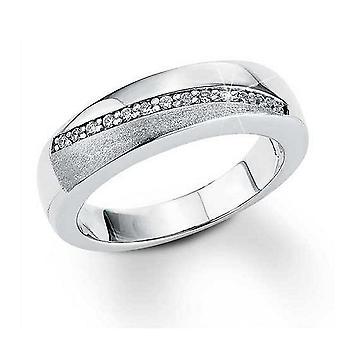 s.Oliver juvel damer ring sølv cubic zirconia SO700