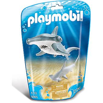Playmobil 9065 Hammerhead Shark with Baby