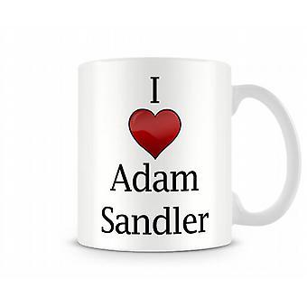 Ik hou van Adam Sandler bedrukte mok
