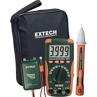 Extech MN16A-KIT Handheld multimeter Digital CAT II 1000 V, CAT III 600 V Display (counts): 4000