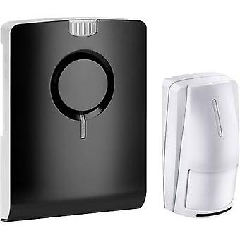Wireless door chime Complete set recordable, incl. motion detector Grothe 43515 ECHO