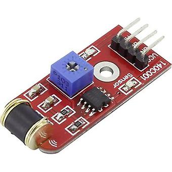 Iduino 1485302 Vibration sensor Suitable for (single board PCs) Arduino