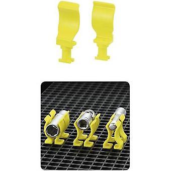 TOOLCRAFT 553946 Universal Clip (L x B) 15 mm x 40 mm 10 PC