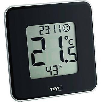 TFA Dostmann Style Thermo-hygrometer Black
