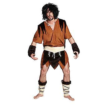 Hule mannen neandertalerne primitive mennesket drakt drakt for menn