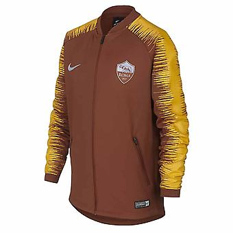 2018-2019 AS Roma Nike Anthem Jacket (Mars Stone) - Kids
