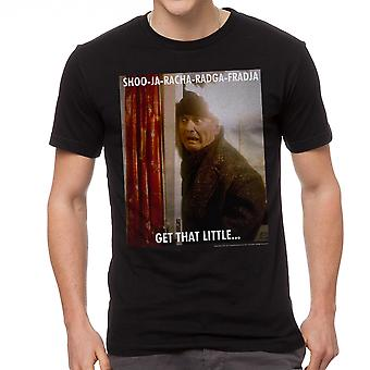 Home Alone Get That Little Quote Men's Black T-shirt