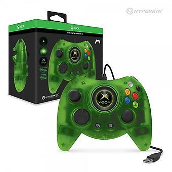 Hyperkin hertog bedrade Controller voor de Xbox One / Windows 10 PC (groen) Hyperkin