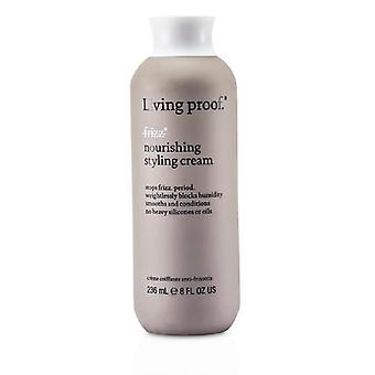 Levende bewijs No Frizz voedende Styling Crème - 236ml / 8oz