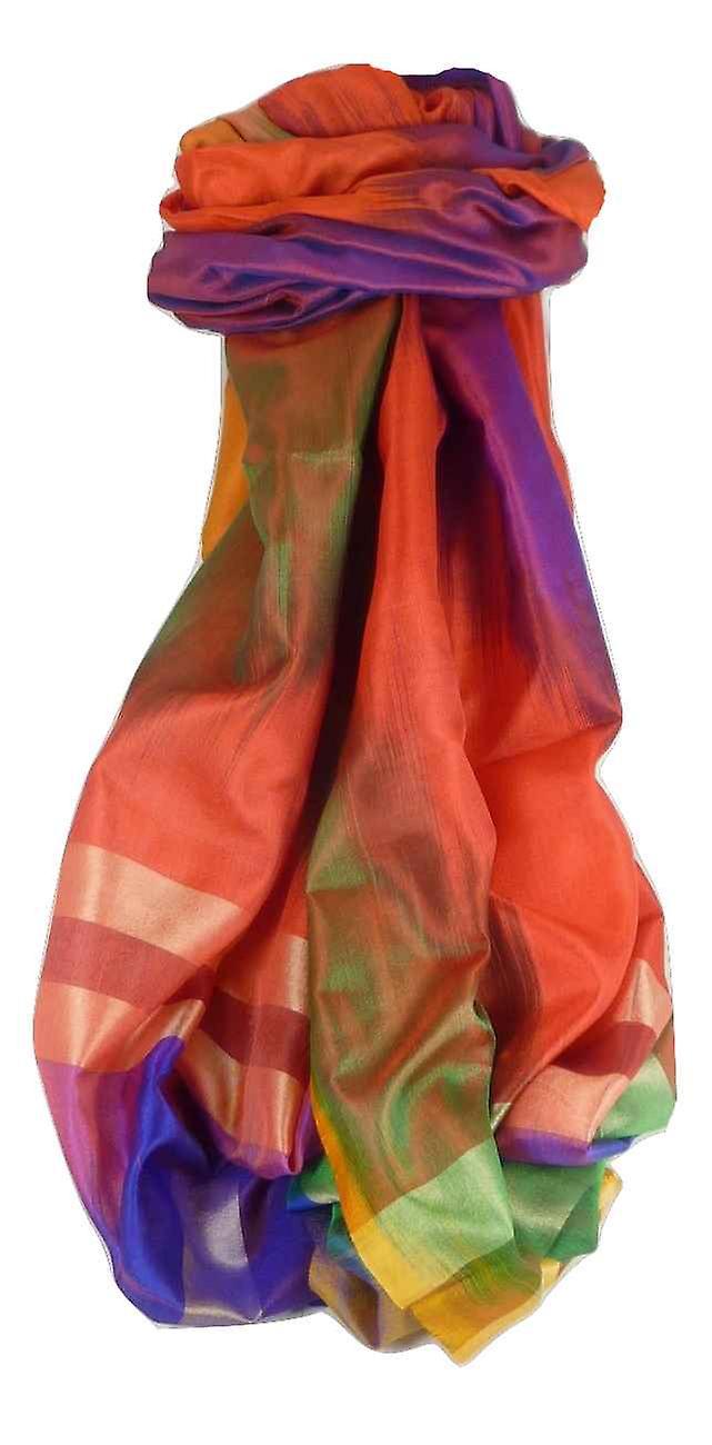 Varanasi Ekal Premium Silk Long Scarf Heritage Range Bharat 9 by Pashmina & Silk