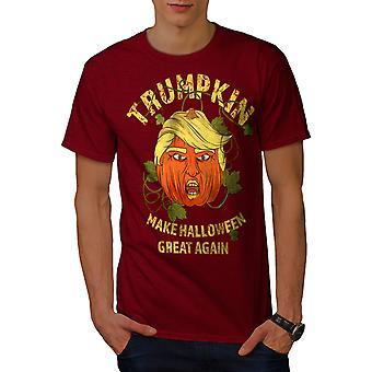 Sälber-camisa de los hombres de Trumpkin Halloween | Wellcoda