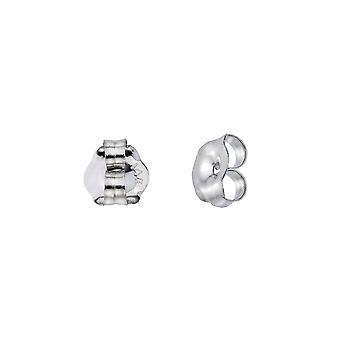 LXR 14k White Gold Replacement Earrings Backs (Pair)