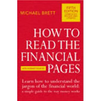 Sådan læses de økonomiske sider af Michael Brett - 9780712662598 bog