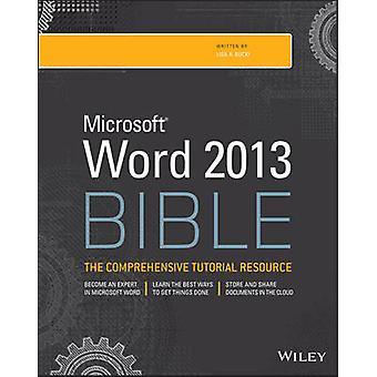 Word 2013 Bibel durch Lisa A. Bucki - 9781118488126 Buch