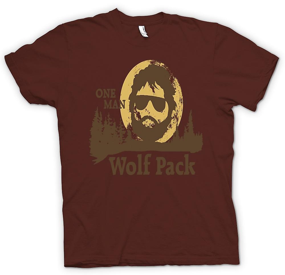 Mens t skjorte ønsker å bli med min ulv Pack Funny | Fruugo