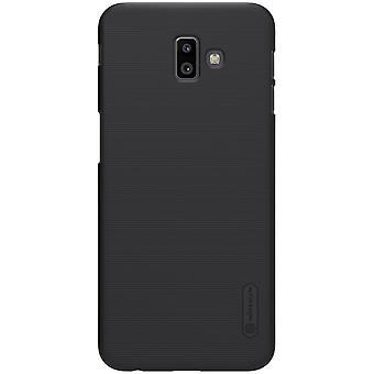 NILLKIN Samsung Galaxy J6 + Frosted shell hard-zwart