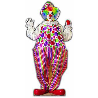 Clown - Lifesize karton gestanst partij / Standee