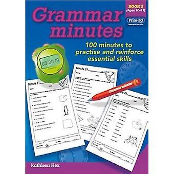 Grammaire Minutes livre 5 - livre 5 par RIC Publications - Bo 9781846542985