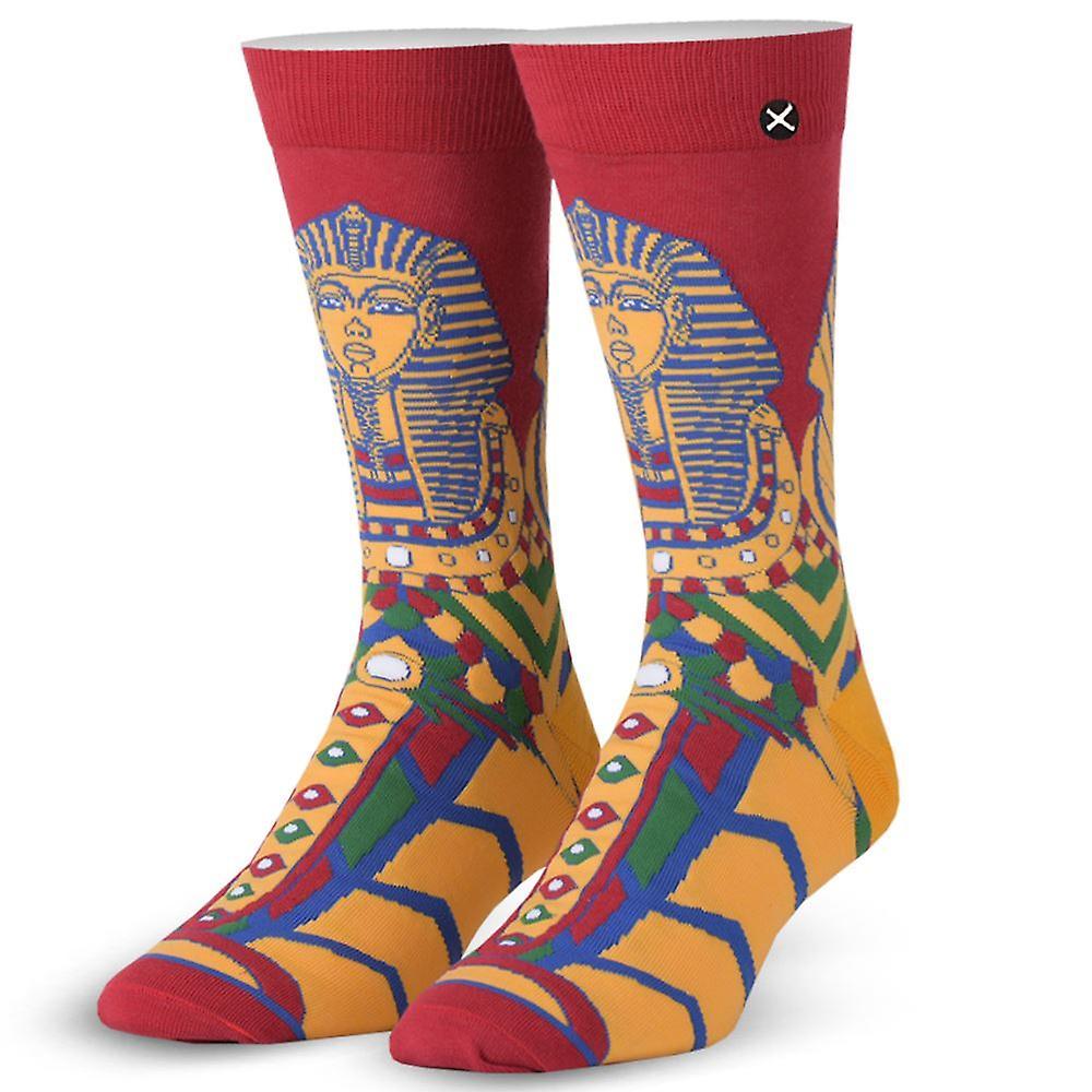 OddSox Mens Crew Knit Socks ~  Sarcophagus