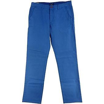 GANT Soho Prep Chino Mens Narrow Fit Low Waist-Hose - blau