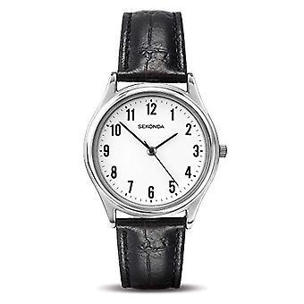 Sekonda wristwatch, Man, Skin, black