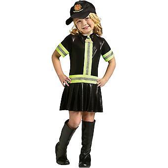 Costume bambino ragazza di fuoco