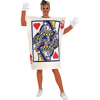 Card Queen Of Hearts Adult Costume