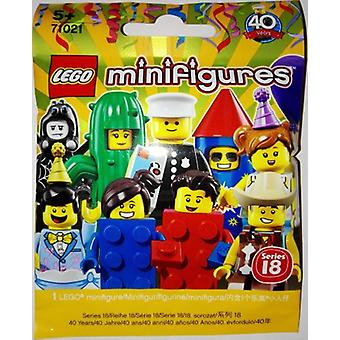 71021 LEGO Mini Figure series 18 random Set of 1 Mini Figure