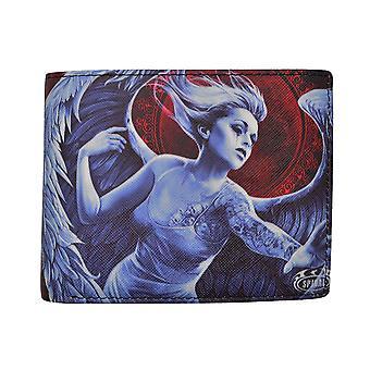 Spirala înger disperare BiFold portofel în cutie de cadouri