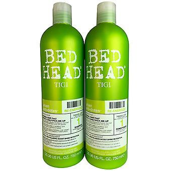 Tigi bed head urban antidotes re-energizing hair shampoo & conditioner 25 oz ea