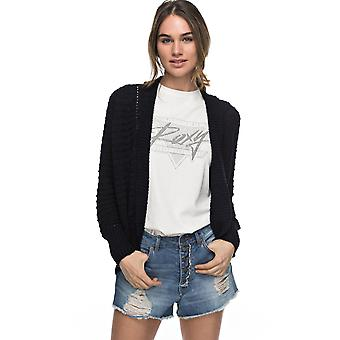 Roxy Womens Lets Go Anywhere Cardigan - Anthracite Black