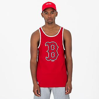 New Era MLB Logo Tank T-Shirt ~ Boston Red Sox