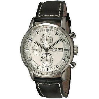 Zeno-Watch Herrenuhr Magellano Retro Chrono Tachymeter 6069TVDI-e2