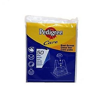 Pedigree Exelpet EASI-Scoop recharge sacs en plastique (14 X Pack de 50)