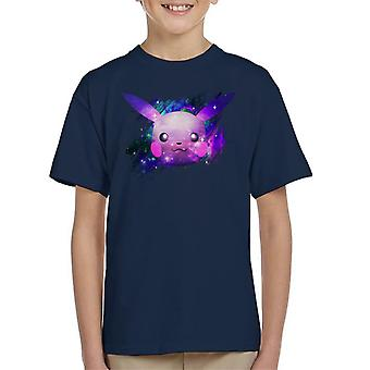 Space Pikachu Pokemon Kid's T-Shirt