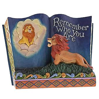 Disney Traditions The Lion King ' Remember Who You Are ' Storybook Figurine