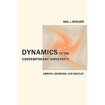 Dynamique de l'université contemporaine - croissance - accrétion - et Con
