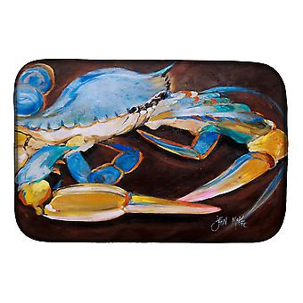 Carolines Treasures  JMK1090DDM Blue Crab Dish Drying Mat