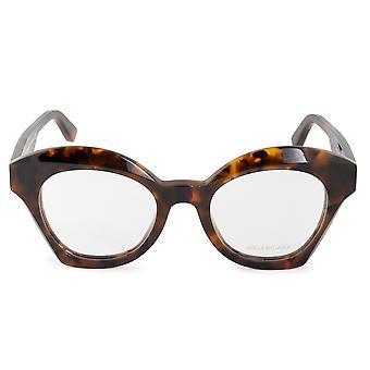 Balenciaga BA 5082 055 49 إطارات نظارات نظارات القط المتضخم
