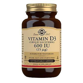 Solgar Vitamina D3 15ug (600iu) Vegicaps 120 (3319)