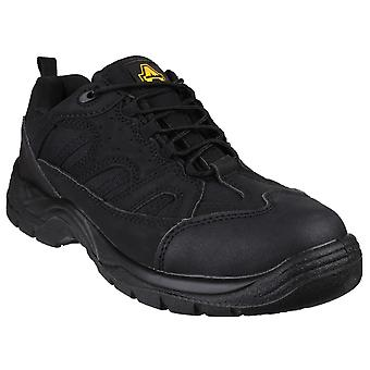 Amblers Safety Mens FS214 Vegan Friendly Safety Scarpe Nere