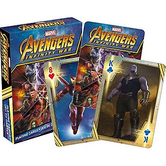 Playing Card - Avengers - Infinity Wars Movie Poker New 52557